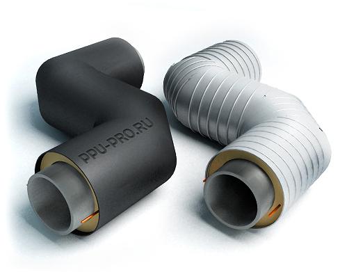 Z-образные элементы трубопровода в ППУ
